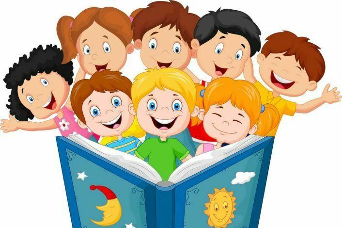 Книги и дети картинки анимация